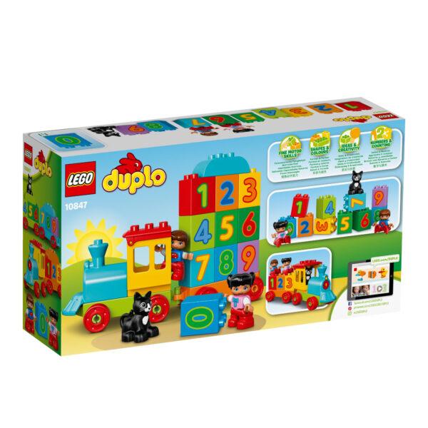 10847 - Il treno dei numeri ALTRI Unisex 0-2 Anni, 3-4 Anni LEGO DUPLO