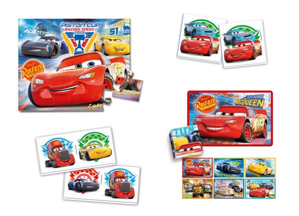 EDUKIT  4IN1 CARS 3 - ALTRO - Giochi da tavolo e puzzle