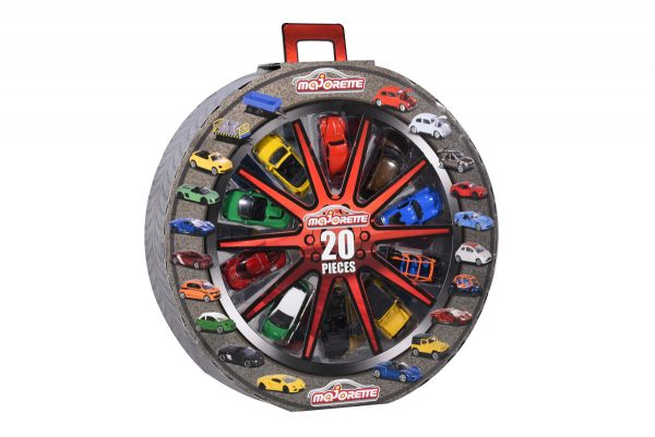 Majorette Giftbox ruota 20 pz - Majorette - Toys Center MAJORETTE Maschio 12-36 Mesi, 12+ Anni, 3-5 Anni, 5-8 Anni, 8-12 Anni ALTRI