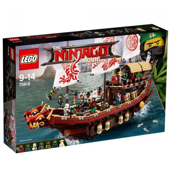 70618 - Vascello del Destino - LEGO NINJAGO - Costruzioni
