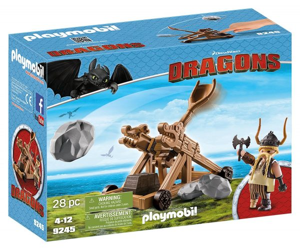 9245 - DRAGONS SKARACCHIO CATAPULTA - ALTRO - Altri giochi per l'infanzia