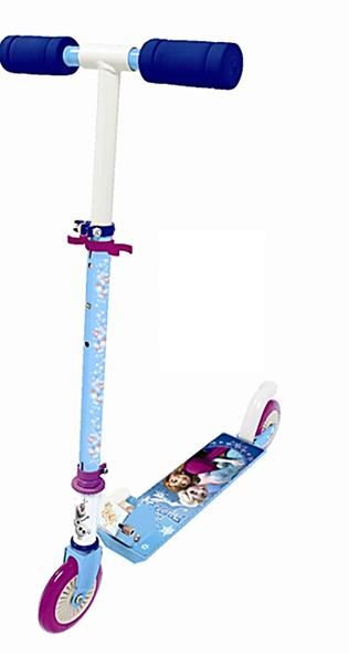 Monopattino due ruote Disney Frozen - Centrigiochi, gonfiabili e trampolini - Estate - Disney - Pattini, skateboard e monopattini