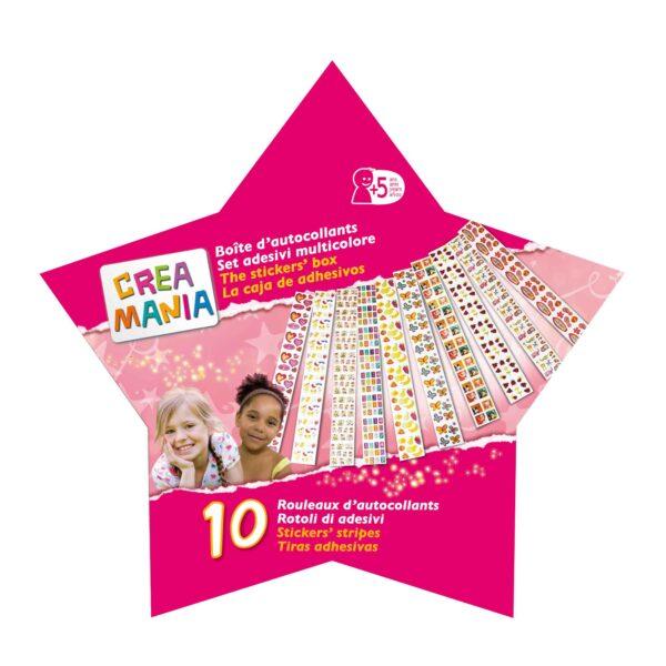 CREAMANIA SET ADESIVI MULTICOLORE - Giocattoli Toys Center CREAMANIA GIRL Femmina 3-5 Anni, 5-7 Anni, 5-8 Anni, 8-12 Anni ALTRI