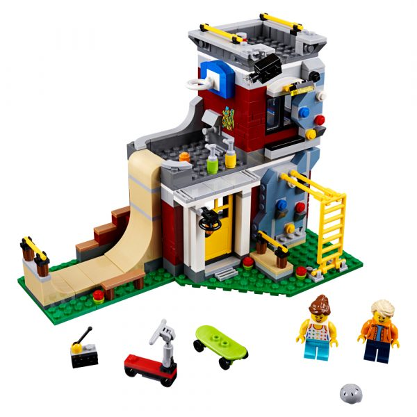 31081 - Skate House modulare - Lego Creator - Toys Center - LEGO CREATOR - Costruzioni