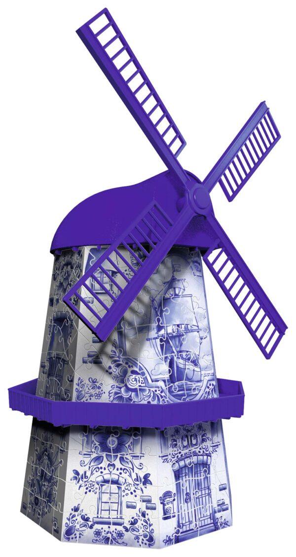 3D Puzzle Building - Mulino Olandese - Altro - Toys Center ALTRI Unisex 12+ Anni, 8-12 Anni ALTRO