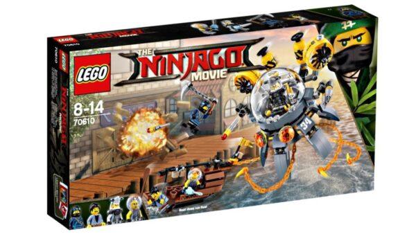 70610 - Sottomarino Flying Jelly - Lego Ninjago - Toys Center LEGO NINJAGO Maschio 12+ Anni, 5-8 Anni, 8-12 Anni ALTRI