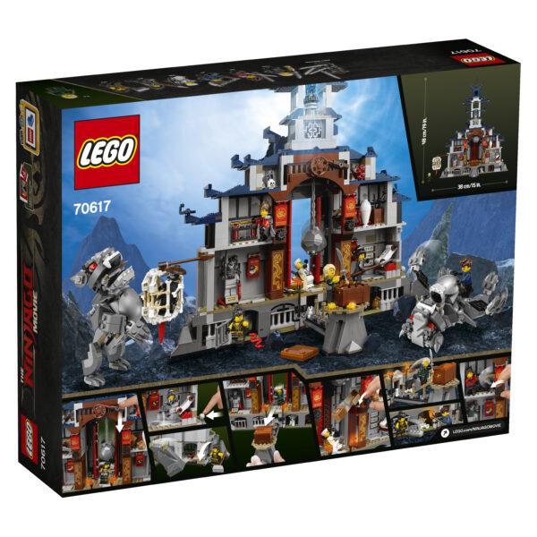 70617 - Tempio delle Armi Finali - Lego Ninjago - Toys Center ALTRI Maschio 12+ Anni, 8-12 Anni LEGO NINJAGO