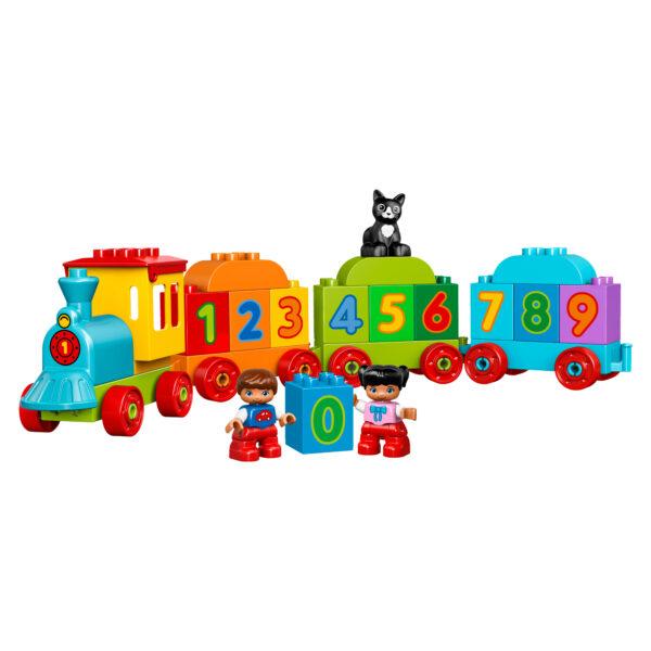 LEGO DUPLO ALTRI 10847 - Il treno dei numeri Unisex 0-2 Anni, 3-4 Anni
