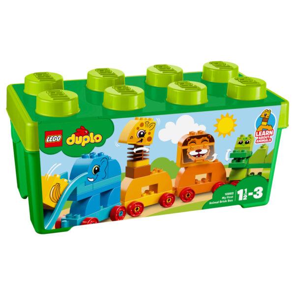 10863 - Il Treno degli Animali - Lego Duplo - Toys Center LEGO DUPLO Maschio 12-36 Mesi, 3-5 Anni ALTRI