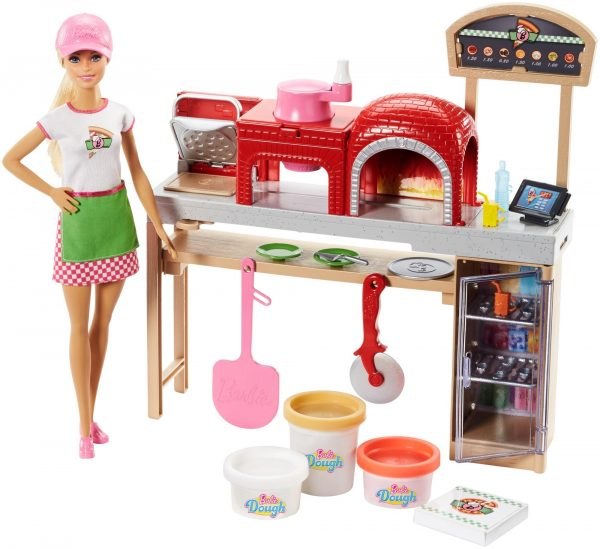 Barbie - La Pizzeria di Barbie Barbie Femmina 12-36 Mesi, 12+ Anni, 8-12 Anni ALTRI