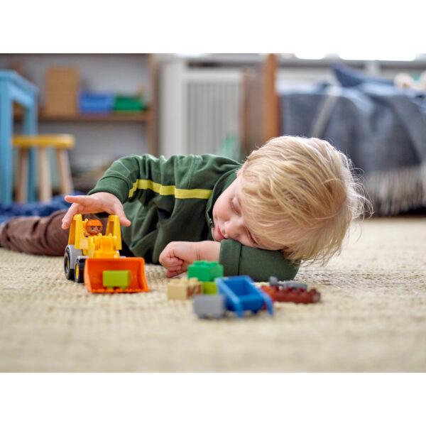10812 - Camion e scavatrice cingolata Unisex 12-36 Mesi, 3-4 Anni, 3-5 Anni, 5-7 Anni, 5-8 Anni ALTRI LEGO DUPLO