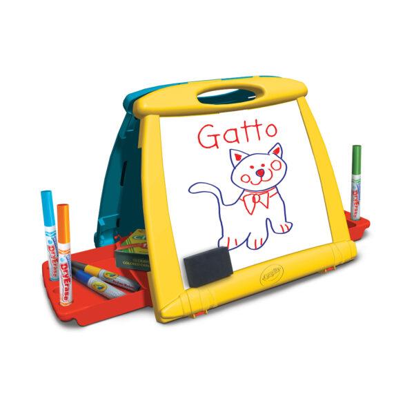 ALTRO ALTRI Cavalletto Sempre con te Crayola Unisex 12-36 Mesi, 3-5 Anni, 5-8 Anni