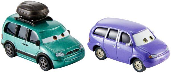 CARS DISNEY - PIXAR Maschio 12-36 Mesi, 12+ Anni, 3-5 Anni, 5-8 Anni, 8-12 Anni Cars 3 - Minny e Van Confezione da 2 veicoli Personaggi Die-cast - DXW06 - Disney - Pixar - Toys Center