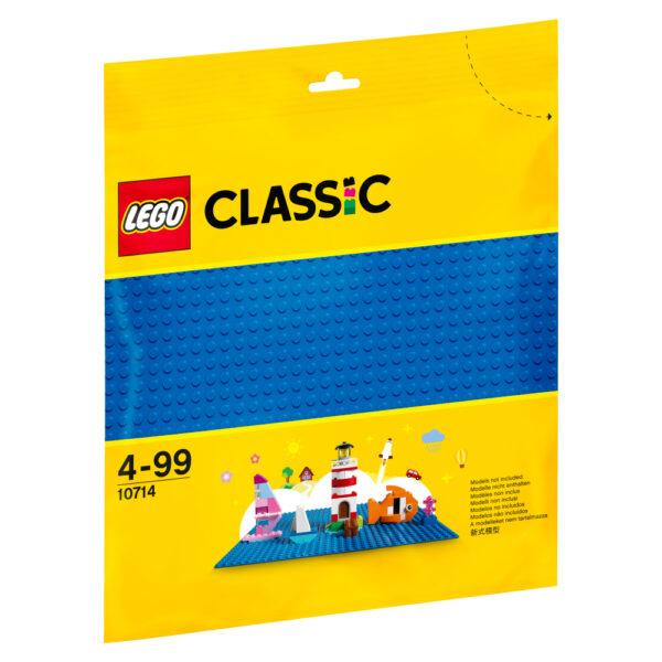 10714 - Base blu LEGO CLASSIC Unisex 12+ Anni, 3-5 Anni, 5-8 Anni, 8-12 Anni ALTRI