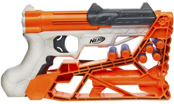 Nerf, Sharpfire - Nerf - Toys Center ALTRI Maschio 12+ Anni, 5-8 Anni, 8-12 Anni NERF