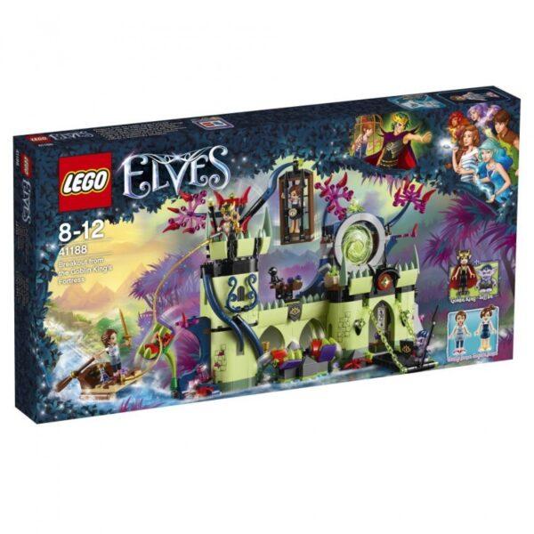 41188 - Evasione dalla fortezza del Re dei Goblin - Lego Elves - Toys Center LEGO ELVES Femmina 12+ Anni, 5-8 Anni, 8-12 Anni ALTRI
