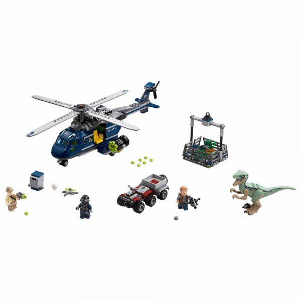 ALTRO JURASSIC WORLD 75928 - Inseguimento sull'elicottero di Blue - LEGO JURASSIC WORLD - LEGO - Marche Unisex 12+ Anni, 5-8 Anni, 8-12 Anni