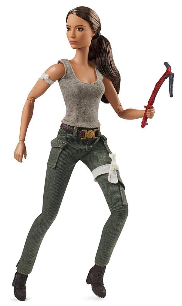 Barbie collectors - Tomb Raider Lara Croft, dal nuovo film di Tomb Raider, da collezione - FJH53 ALTRI Femmina 12+ Anni Barbie
