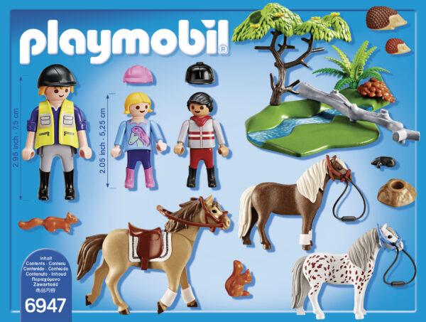 Gita con i Pony ALTRI Unisex 3-4 Anni, 3-5 Anni, 5-7 Anni, 5-8 Anni, 8-12 Anni PLAYMOBIL - COUNTRY