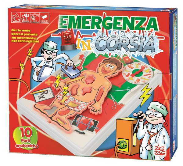 ZIG ZAG EMERGENZA IN CORSIA - Zig Zag - Toys Center - ZIG ZAG - Giochi da tavolo