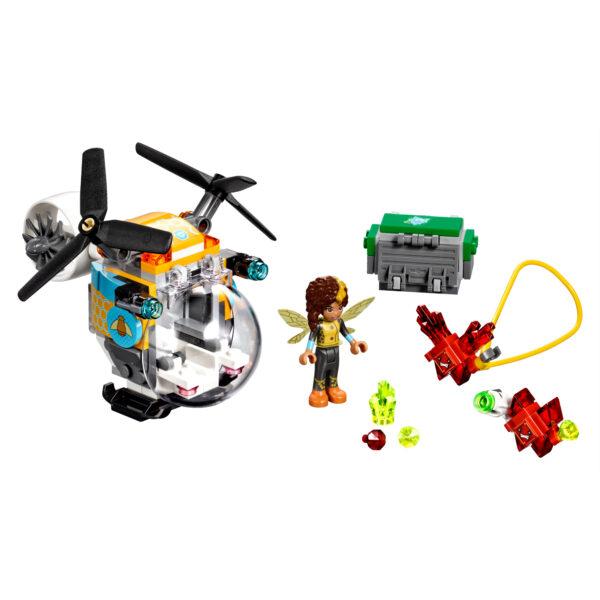 DC COMICS DC SUPERHERO GIRLS 41234 - L'elicottero di Bumblebee™ - Giocattoli Toys Center Femmina 5-7 Anni, 8-12 Anni