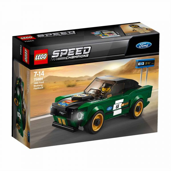 1968 Ford Mustang Fastback - Lego Speed Champions - Toys Center LEGO SPEED CHAMPIONS Maschio 12+ Anni, 5-8 Anni, 8-12 Anni ALTRI