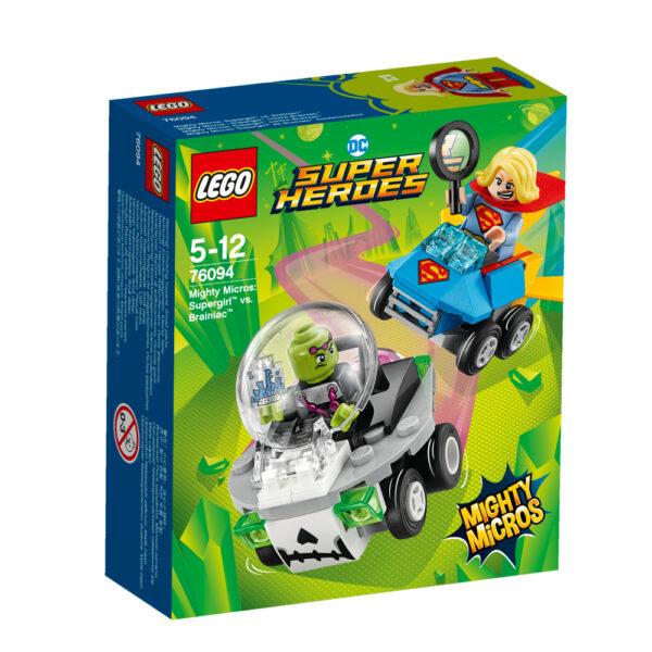 76094 - Mighty Micros: Supergirl™ contro Brainiac™ LEGO SUPER HEROES Maschio 12+ Anni, 3-5 Anni, 5-8 Anni, 8-12 Anni ALTRI