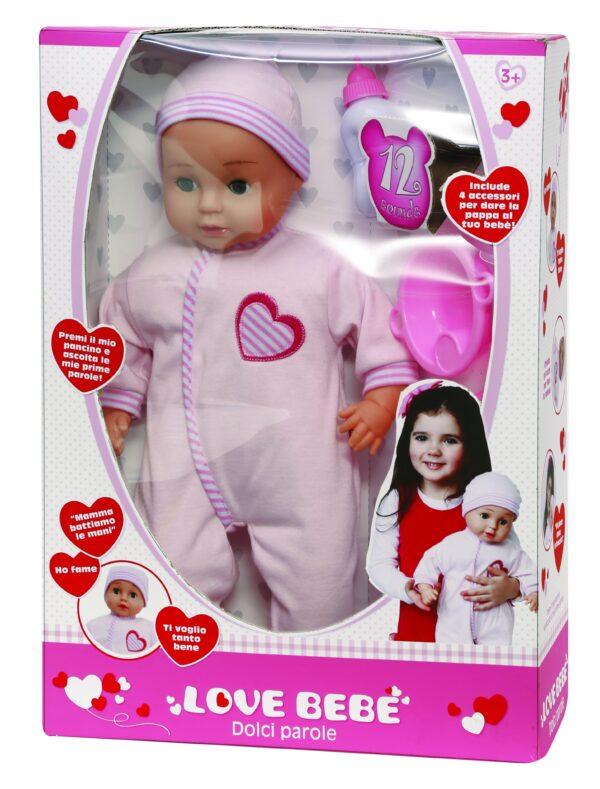 LOVE BEBÈ Bebè dolci parole LOVE BEBÈ Femmina 12-36 Mesi, 3-5 Anni, 5-8 Anni ALTRI