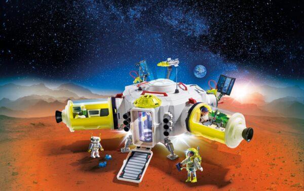 STAZIONE SPAZIALE SU MARTE ALTRI Unisex 12+ Anni, 5-8 Anni, 8-12 Anni PLAYMOBIL - SPACE