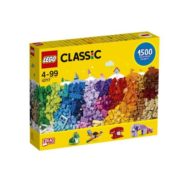 Lego Classic - Mattoncini, mattoncini, mattoncini - 10717 LEGO CLASSIC Unisex 12+ Anni, 3-5 Anni, 5-8 Anni, 8-12 Anni ALTRI