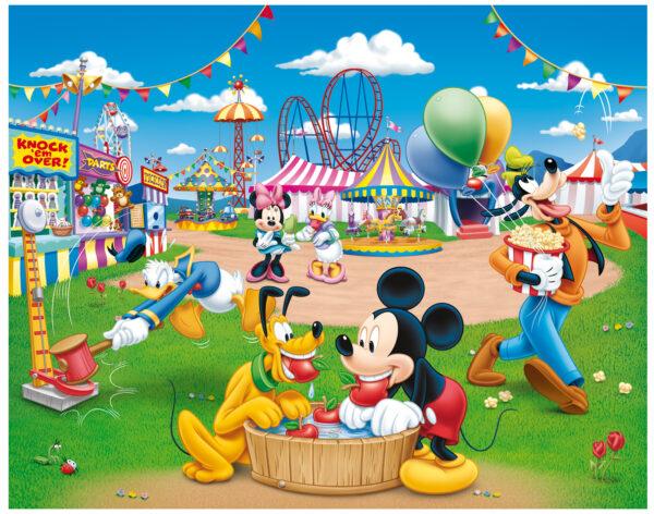 LISCAINI - PUZZLE DF SUPERMAXI 108 MICKEY TOPOLINO&CO. Unisex 12-36 Mesi, 3-5 Anni, 5-8 Anni Disney