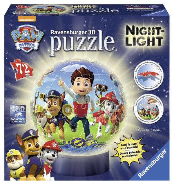 Lampada Notturna: Paw Patrol - Altro - Toys Center ALTRO Maschio 5-7 Anni, 5-8 Anni, 8-12 Anni PAW PATROL