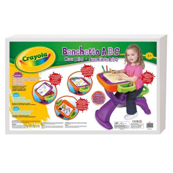 Banco scuola ABC Crayola - Altro - Toys Center CRAYOLA Unisex 12-36 Mesi, 3-5 Anni, 5-8 Anni ALTRI