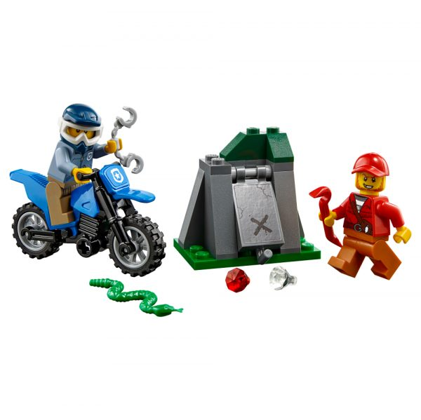 60170 - Inseguimento fuori strada - LEGO CITY - Costruzioni