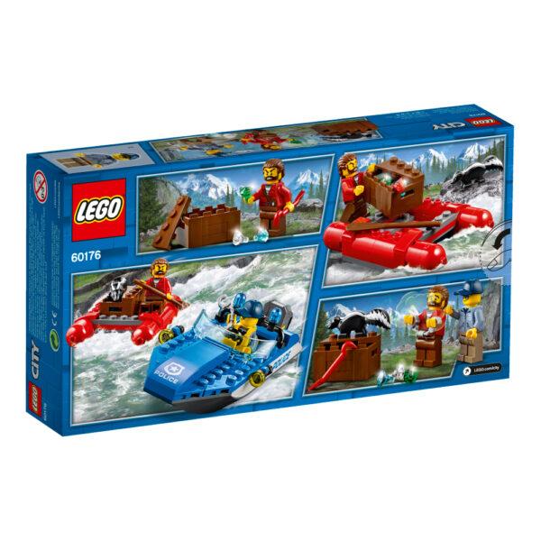 60176 - Fuga sul fiume - Lego City - Toys Center ALTRI Maschio 12+ Anni, 3-5 Anni, 5-8 Anni, 8-12 Anni LEGO CITY
