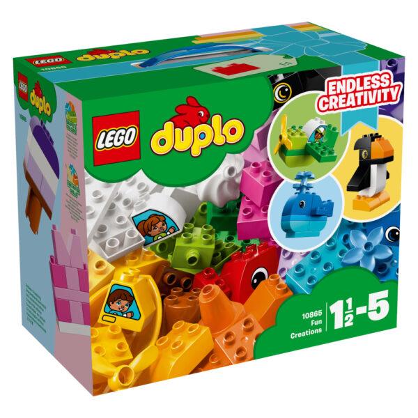 10865 - Creazioni divertenti - Lego Duplo - Toys Center LEGO DUPLO Maschio 12-36 Mesi, 3-5 Anni, 5-8 Anni ALTRI