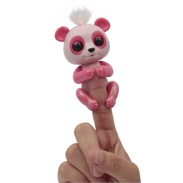 Giochi Preziosi - Fingerlins Panda Bebè Polly - Altro - Toys Center - ALTRO - Personaggi collezionabili