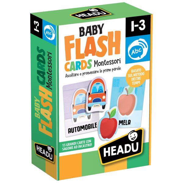 Baby Flashcards Montessori ALTRO Unisex 0-12 Mesi, 12-36 Mesi, 3-5 Anni ALTRI