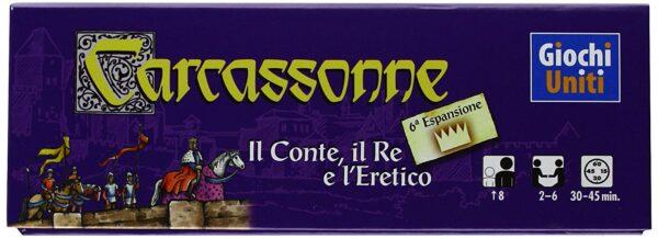 ALTRO ALTRI CARCASSONNE CONTE RE ERETICO - Altro - Toys Center Unisex 12+ Anni, 5-8 Anni, 8-12 Anni