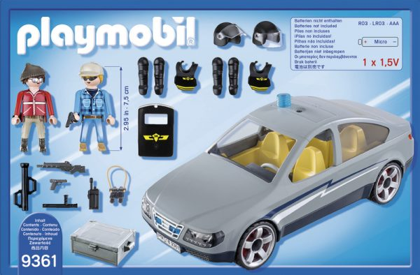 AGENTI IN BORGHESE - Playmobil - City Action - Toys Center - PLAYMOBIL - CITY ACTION - Altri giochi per l'infanzia