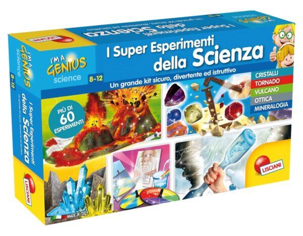 I'm a Genius i Super Esperimenti della Scienza - I'm A Genius - Toys Center I'M A GENIUS Unisex 5-8 Anni, 8-12 Anni ALTRI