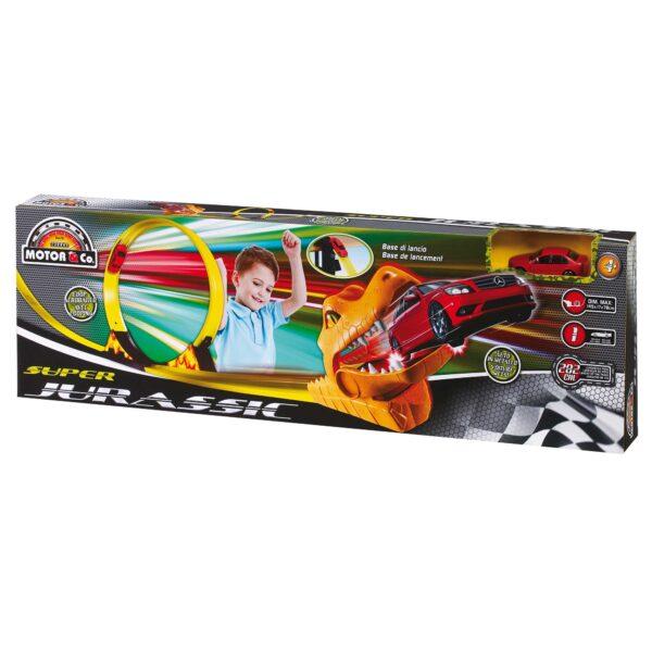 PISTA T REX 2.8Me1 AUTO DIE - Motor&co - Toys Center - MOTOR&CO - Set di veicoli e accessori
