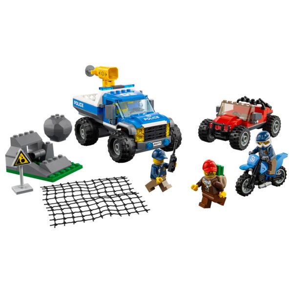 LEGO CITY ALTRI LEGO City  - Duello fuori strada -60172 Maschio 12+ Anni, 3-5 Anni, 5-8 Anni, 8-12 Anni