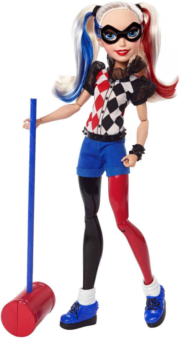 Harley Queen 30 cm - DC SUPER HERO GIRLS - Personaggi DC SUPER HERO GIRLS Femmina  HARLEY QUINN