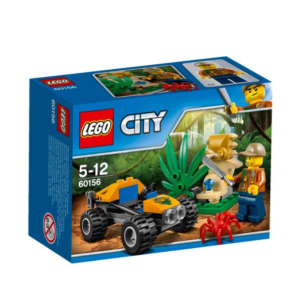 LEGO 60156 - Buggy della giungla LEGO CITY Maschio 12+ Anni, 3-5 Anni, 5-8 Anni, 8-12 Anni ALTRI