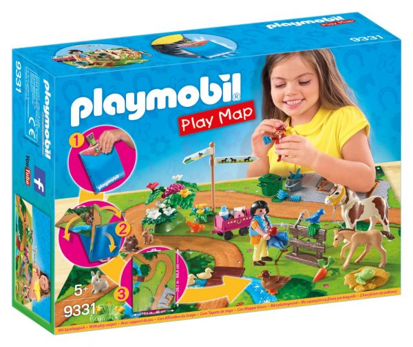 PLAY MAP - PASSEGGIATA A CAVALLO PLAYMOBIL - PLAY MAP Femmina 12+ Anni, 3-5 Anni, 5-8 Anni, 8-12 Anni ALTRI