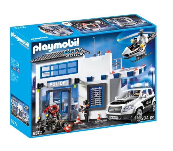 CENTRALE DELLA POLIZIA - Playmobil - City Action - Toys Center PLAYMOBIL - CITY ACTION Maschio 12+ Anni, 3-5 Anni, 5-8 Anni, 8-12 Anni ALTRI