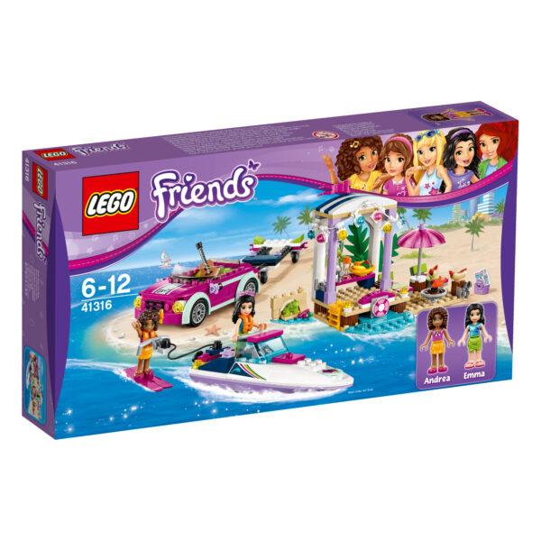 41316 - Il trasportatore di motoscafi di Andrea - Lego Friends - Toys Center - LEGO FRIENDS - Costruzioni