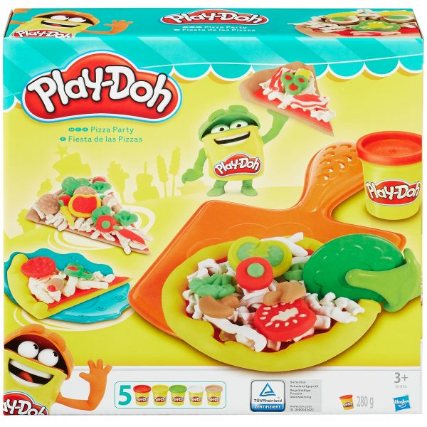Play-Doh Pizza Party - Play-doh - Toys Center PLAY-DOH Unisex 12-36 Mesi, 3-5 Anni, 5-8 Anni ALTRI