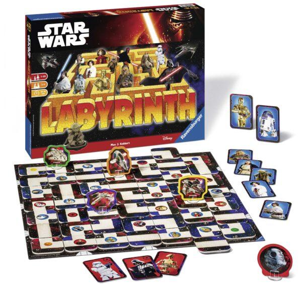 Labirinto Star Wars - Best Seller Disney - DISNEY - Marche Star Wars Unisex 12+ Anni, 5-7 Anni, 5-8 Anni, 8-12 Anni LABIRINTO
